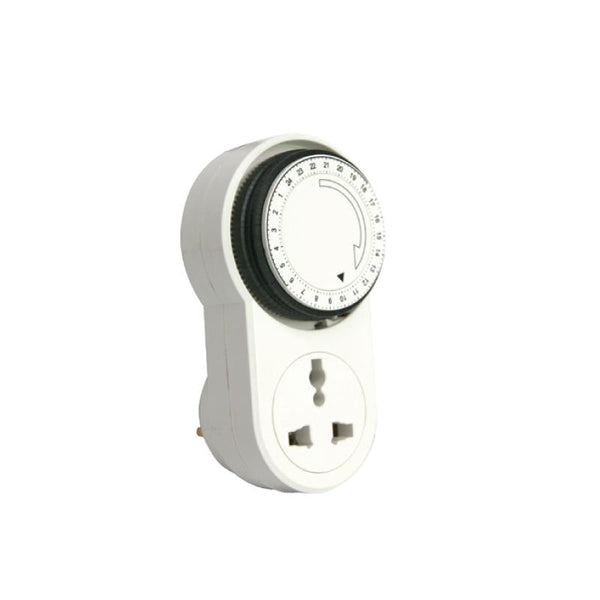 Mechanical 24hrs Timer Plug (FDD50-E1) - PowerPacSG