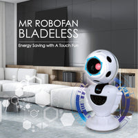 "iFan ""MR ROBOFAN"" Whole Room Eco Air Circulator with Remote Control (IF7373)"