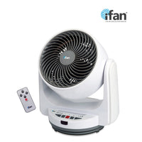 "iFan Combo Special -  8"" Desk Air Circulator Fan + 10"" Power Fan  ( IF7405 + IF7656), Fan, iFan, PowerPacSG- PowerPacSG"