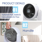 "iFan 8"" Air Circulating Fan High Velocity Fan with Remote Control (IF7405) - PowerPacSG"