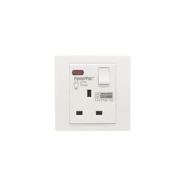 Led neon 13A 1Gang Switched Socket / Wall Socket with 2 Year Local Warranty (PP1011N) - PowerPacSG