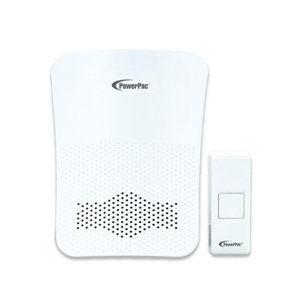 Wireless Door Chime with Volume adjust & tone selector (PP3230) - PowerPacSG
