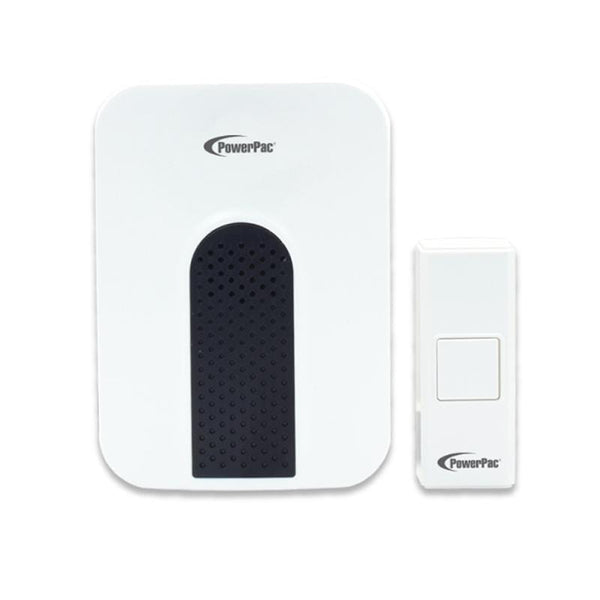 Wireless Door Chime with Volume adjust & tone selector (PP3231) - PowerPacSG