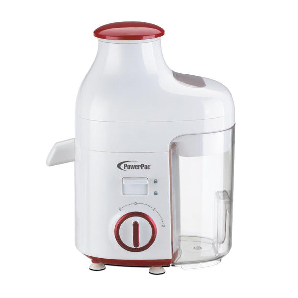 Juice Extractor with 2 Speed Selector and Safety Lock (PP3403), Blender, PowerPac, PowerPacSG- PowerPacSG