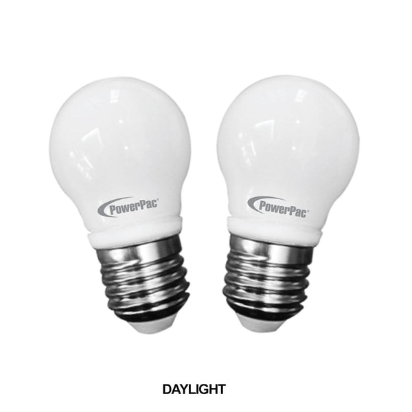 2 Pieces x PowerPac 3.5W E27 Vertex LED Bulb (PP6507/PP6507WW), Vertex Led, PowerPac, PowerPacSG- PowerPacSG