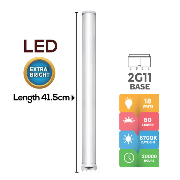 LED PLL Tube 18 Watts (PP6736) - PowerPacSG