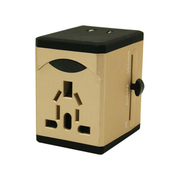 Multi Travel Adapter With 2x USB Adapter (PP7972), Extension Socket, PowerPac, PowerPacSG- PowerPacSG