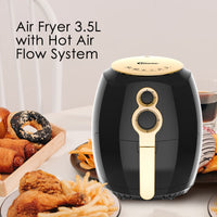 Air Fryer 3.5L with Hot Air Flow System (PPAF608), Air Fryer, PowerPac, PowerPacSG- PowerPacSG