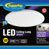 24W LED Ceiling Lamp SPHERE Daylight (PPC330)