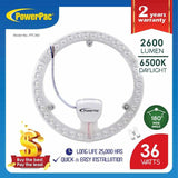 PowerPac LED Circular Tube 36Watts Daylight (PPC360), Circular Tube, PowerPac, PowerPacSG- PowerPacSG