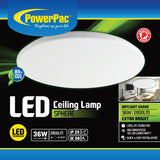 36W LED Ceiling Lamp SPHERE Daylight (PPC480)
