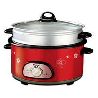 Steamboat & Multi Cooker 3L with Non sticker pot and steamer (PPMC868) - PowerPacSG