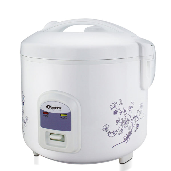 2.8L Deluxe Rice Cooker with Steamer (PPRC22), Rice Cooker, PowerPac, PowerPacSG- PowerPacSG