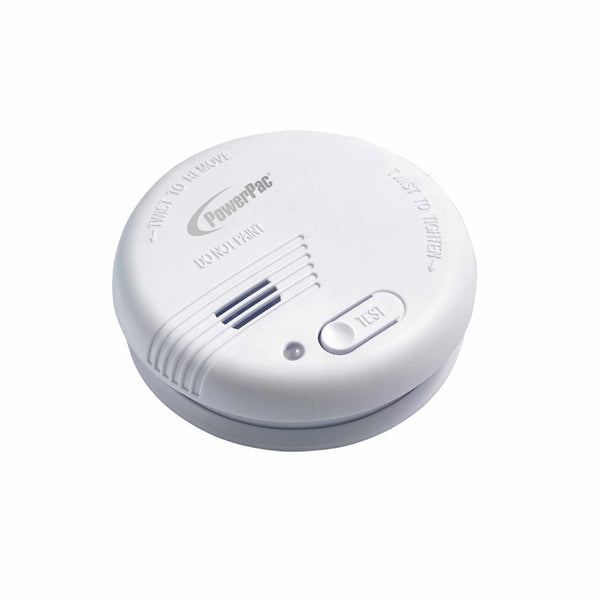 Smoke Detector with Light and Test Button (PPSD125) - PowerPacSG