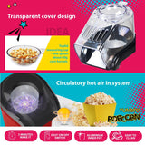 Electric Hot Air Popcorn Maker Corn Popper Machine (PPT07) - PowerPacSG