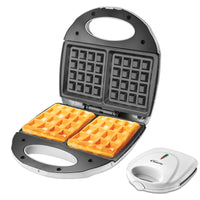 Double-sided Heating Electric Waffle maker with Non-stick coating plate (PPT252), Toaster, PowerPac, PowerPacSG- PowerPacSG