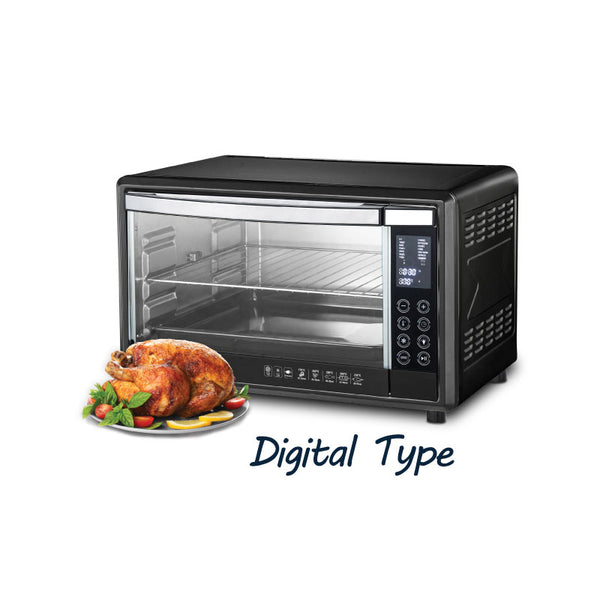 DISPLAY SET - 45L DIGITAL OVEN - 2 SETS OF BAKING TRAY AND GRILL / ROTISSERIE & CONVECTION FUNCTION (PPT485) - PowerPacSG