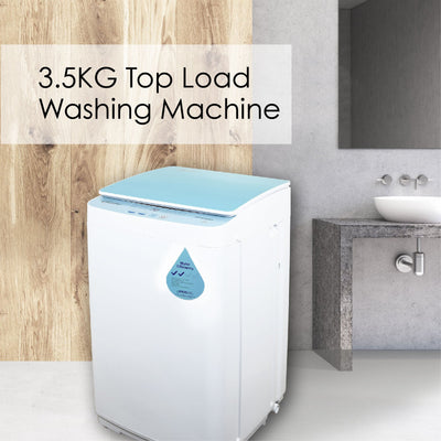 PowerPac Top Load Mini Washing Machine 3.5Kg Washload (PPW883)