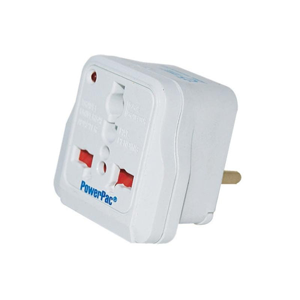 Multi Travel Adapter (PT09) Russia, Middle East, South America, China, 13 Amp, PowerPac, PowerPacSG- PowerPacSG