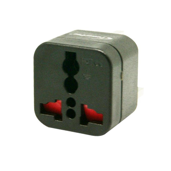 Multi Travel Adapter (PT09BK) Russia, Middle East, South America, China - PowerPacSG
