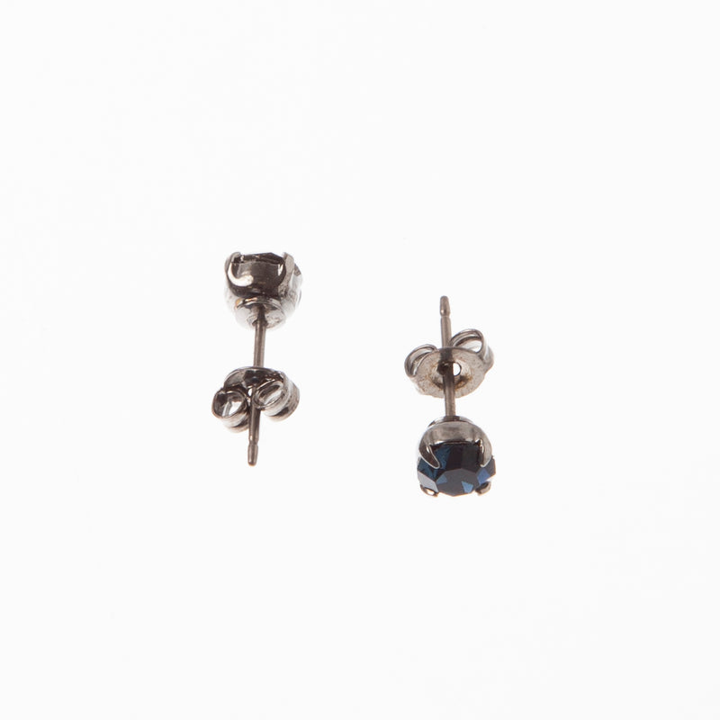 4-Prong Stud Earrings