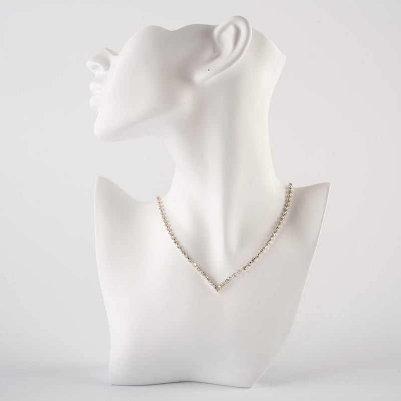 Blingy Vee Necklace