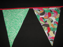 Triangle Pennant Flag Banner (Red 70's)