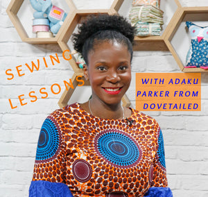 An Introduction to sewing with African wax print fabrics!!