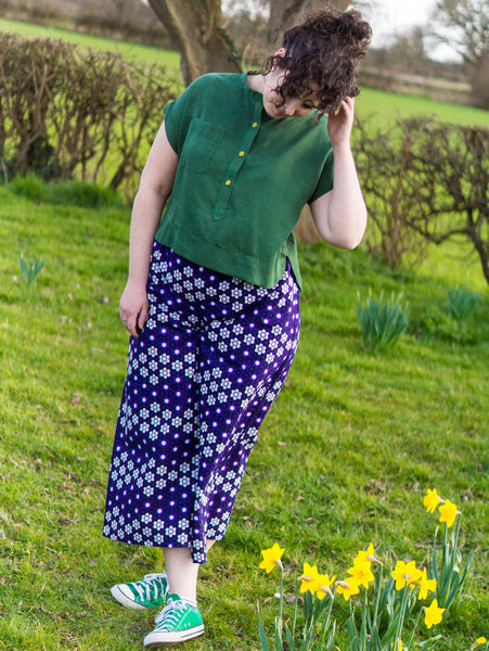 Wax Print Lottie Culottes: A Super Comfy Staple