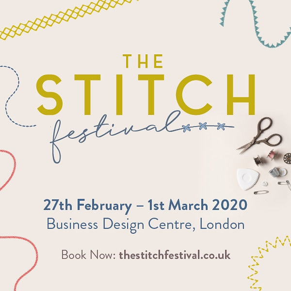 Get money off your tickets for the Stitch Festival!