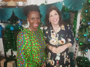 Watch Adaku on Kirstie Allsopp's Handmade Christmas 2019!