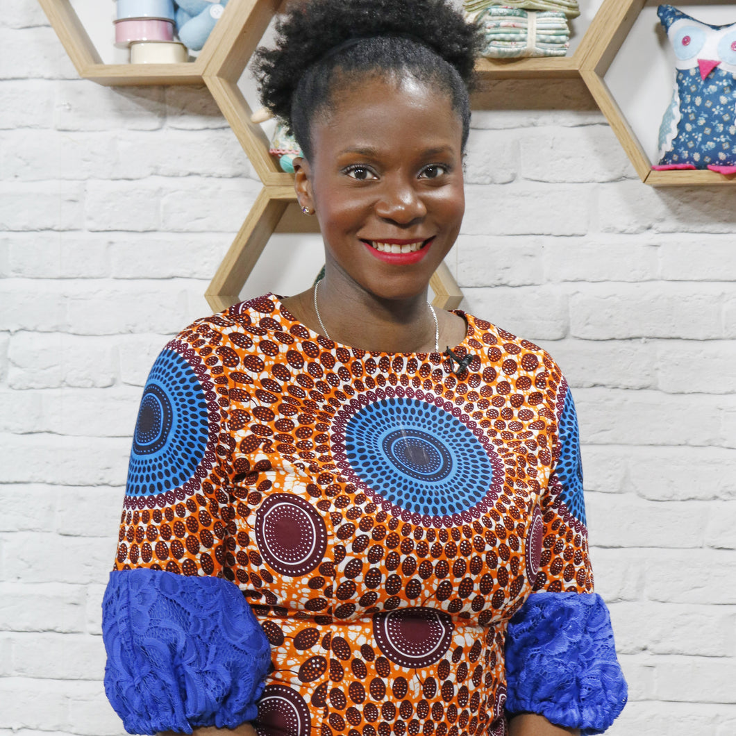 Sewing with African wax print fabrics workshop