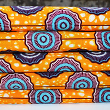 'I'M WITH THE BAND' African Wax Block Print Fabric Sold by the yard 100% cotton by Dovetailed