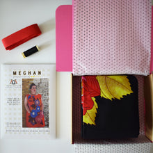*Meghan Dress Sewing Kit* African Wax Print Dressmaking Kit Crafts Stitching Gifts for Her