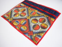 *Project Bag Sewing Kit* African Wax Print Vinyl Zip Closure Crafts Knitting Stitching Gifts for Her