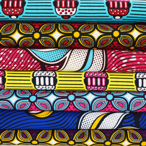 African Print Wax Block Fabric Sold by the yard 100% cotton One Sample Various colours African fashion Craft & Supplies by Dovetailed