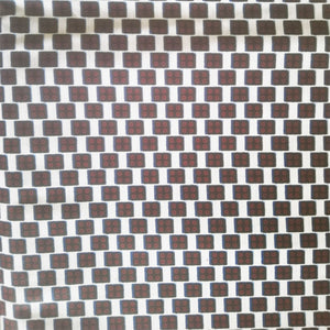 'SUGAR' African Print Wax Block Fabric Sold by the yard 100% cotton black white maroon Ankara Patterned by Dovetailed