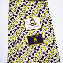 Julius Holland Wax Block African Print Fabric Purple Yellow Sold by the yard Cotton by Dovetailed