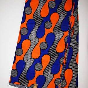 'HER HAIR WAS ADORNED WITH BEADS' African Wax Print Fabric Sold by the yard 100% cotton Ankara Patterned by Dovetailed
