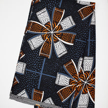 'IT'S GETTING HOT IN HERE (On Black)' African Wax Print Fabric Sold by the yard 100% cotton Ankara Patterned by Dovetailed