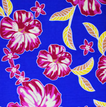 African Print Wax Block Fabric Sold by yard 100% cotton Blue Pink Yellow Ankara by Dovetailed