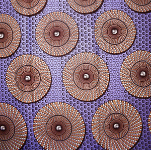 'WE'LL BE LATE FOR THE MATINEE' African Wax Print Fabric Sold by the yard 100% cotton Ankara Patterned by Dovetailed