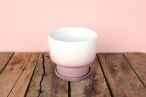 Peaches Aubergine Mist Planter