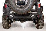JEEP WRANGLER JK HEAVY DUTY REAR BUMPER W/ LED BACKUP LIGHTS | 83218