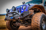JEEP JK FULL WIDTH CENTER MOUNT WINCH BUMPER