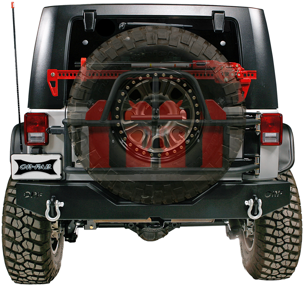 Jeep Jk Swing A Way Tire Carrier Orfab