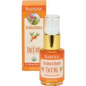 Badger Seabuckthorn Face Oil