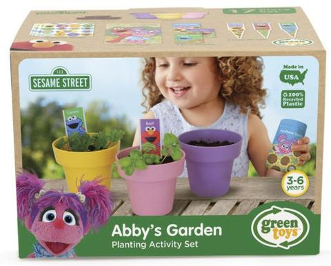 Green Toys Abby's Garden Activity Set
