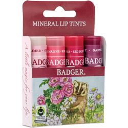 Badger Mineral Lip Tints 4-pack