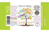 BALM! BABY - BE WELL, STAY WELL ELDERBERRY NATURAL IMMUNITY DEFENSE TINCTURE 2OZ